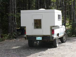 Homemade Pop Top Camper A Small Lightweight